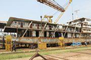 M/S Gungu, un bateau de luxe pour desservir les affluents du Fleuve Congo