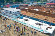 Transport fluvial : Le bateau MB Loando I mis à flot