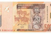Kinshasa Le billet de 5000FC indésirable à plusieurs endroits