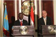 Inga au centre des entretiens de Matata en Egypte