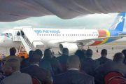 Vol inaugural effectué, Congo Airways projette un Airbus A320 et un bombardier 400 au premier trimestre 2016