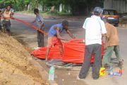 RDC : la ministre Kanyinda lance le signal du réseau de la fibre optique à Kinshasa
