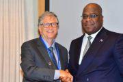 RDC : Bill Gates promet à Félix Tshisekedi un appui à l'amélioration du système congolais de santé