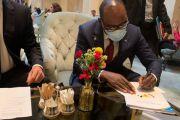 Diversification économique et transition énergétique en RDC/Finances : Nicolas Kazadi et Eurasian Resources Group ont signé un Accord de 300 millions USD d'investissements