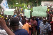 Matadi : marche contre le projet de construction du pont entre Kinshasa et Brazzaville